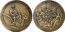 Iran.  Commemorative Medal for the 1000 Years of the death of the Persian poet Ferdowsi, AH 1313.
