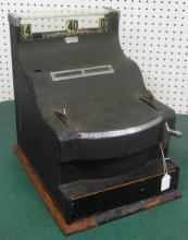 ANTIQUE CASH REGISTER ST. LOUIS CASH REGISTER COMPANY UNRESTORED APPEARS COMPLETE NO KEY LOCAL PICKUP ONLY