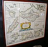ROBERT MORDEN - antique hand coloured map of