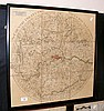 An unusual antique map of the