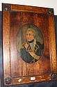A 19th century oil on board of Lord Nelson with