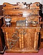 A 19th century mahogany chiffonier with drawers