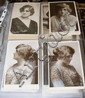 Various collectable film star postcards, greetings