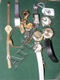 A collection of gent's and lady's wristwatches