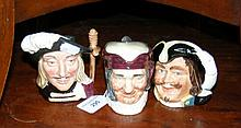 A medium size Royal Doulton character jug -