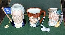 A Royal Doulton medium character jug -