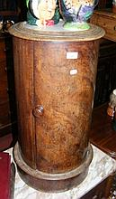 A Victorian marble top pot cupboard