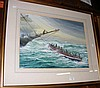 M BENSLEY - watercolour of lifeboat rescue -