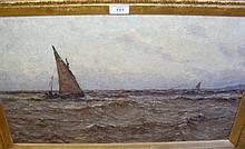 19th century Impressionist - oil on canvas -