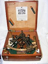 A Troughton & Simms, London ship's sextant with