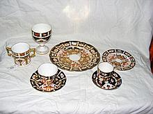 A Royal Crown Derby Imari pattern two-handled