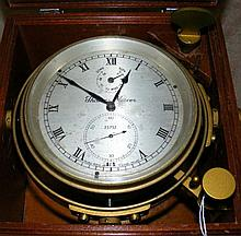 A Thomas Mercer marine chronometer - the 10cm
