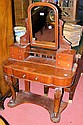 A Victorian mahogany Duchess dressing table on