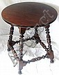 Wallace Nutting Furniture - #653 Turned Splay Leg Table