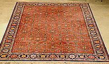 10 x 14 Karastan Serapi Rug 100% wool, good condition--Provenance: Bluff Plantation, Augusta, GA