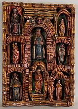 Large Spanish-Colonial Retablo
