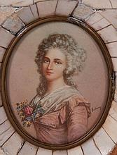 Madame Elisabeth de France Signed Portrait