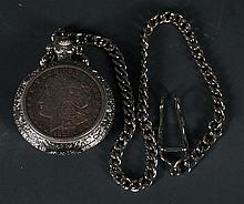 1921 Morgan Silver Dollar Pocket Watch