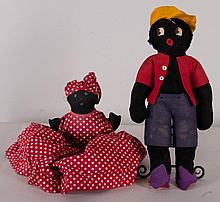 Golliwog and Mammy Dolls
