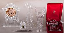 6 Pcs. Waterford Crystal