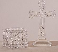 2 Pcs. Waterford Cut Crystal