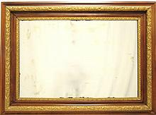 19th Century Frame w/ Mirror