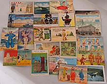 Vintage Military Humor & Other Postcards