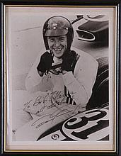 Dan Gurney, Mickey Thompson Autographs