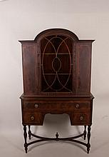 Mahogany China Cabinet