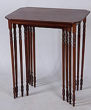 Paine Furniture Co. Nest of 4 Tables
