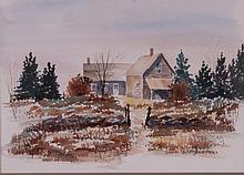 Upper Peninsula, Michigan, Watercolor