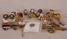 Club & Service Pins, Cufflinks, Collar Tabs