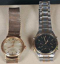 Omega Seamaster & Seiko Chronograph Watches