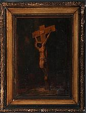 Crucifixion--Oil on Canvas
