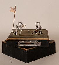 French Lever Action Horse Race Game