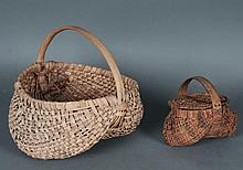 Miniature Lidded Buttocks Basket, Other Basket