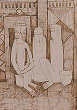 Sketch of Egyptian Women