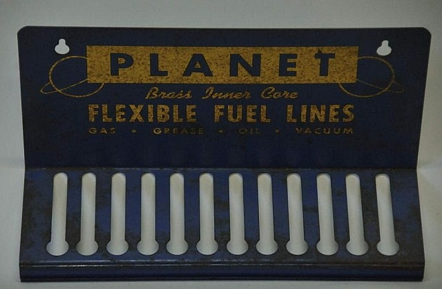 Planet Flexible Fuel Lines Tin Advertising