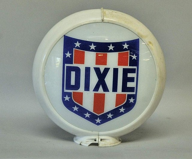 Dixie Gasoline Pump Globe