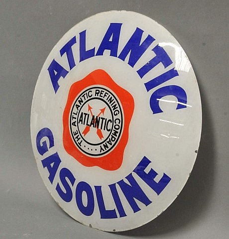 Atlantic Gasoline Single Globe Lens