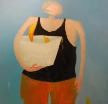 Vallejos Jorge (Peru 1965-)  oil on canvas