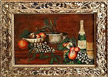 Rossi Roberto (Argentinean 1896-1957) Still Life oil on linen