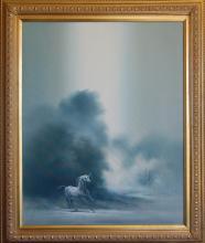 Bodner Joseph (American 20th c) Pegasus oil on canvas