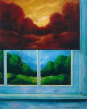 Niewoehner Everett (American born 1939) Autumn Shade oil on canvas