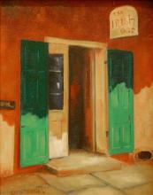 Niewoehner Everett (American born 1939) The irish Shop oil on canvas