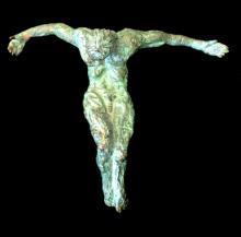 Durand Nicole (French 1957-) La Souffrance de L'Homme bronze sculpture