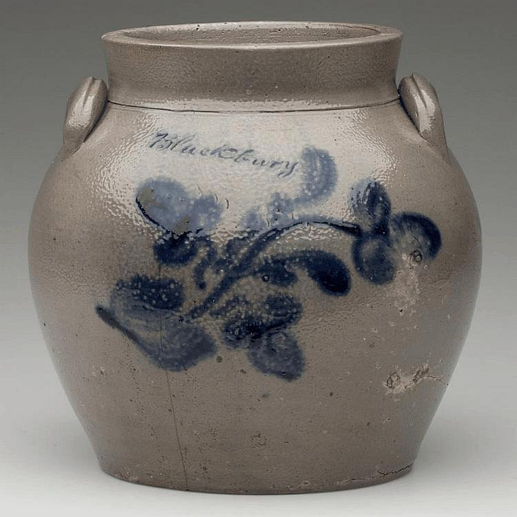 ROCKINGHAM CO., VIRGINIA DECORATED STONEWARE