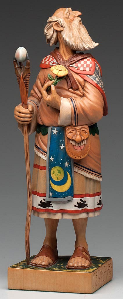 JOHN L. HEATWOLE (SHENANDOAH VALLEY OF VIRGINIA, 1948-2006) CARVING