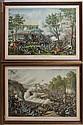 KURZ & ALLISON CIVIL WAR COLOR LITHOGRAPHS, LOT OF TWO