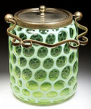 HONEYCOMB / BIG WINDOWS CRACKER / BISCUIT JAR